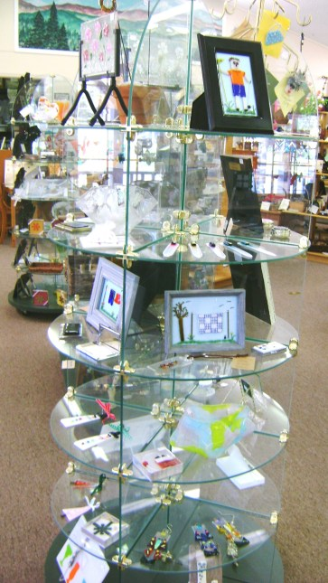 31 - D. Williams - fused glass