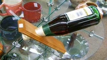 59 - Tim Snow - wood wine holder