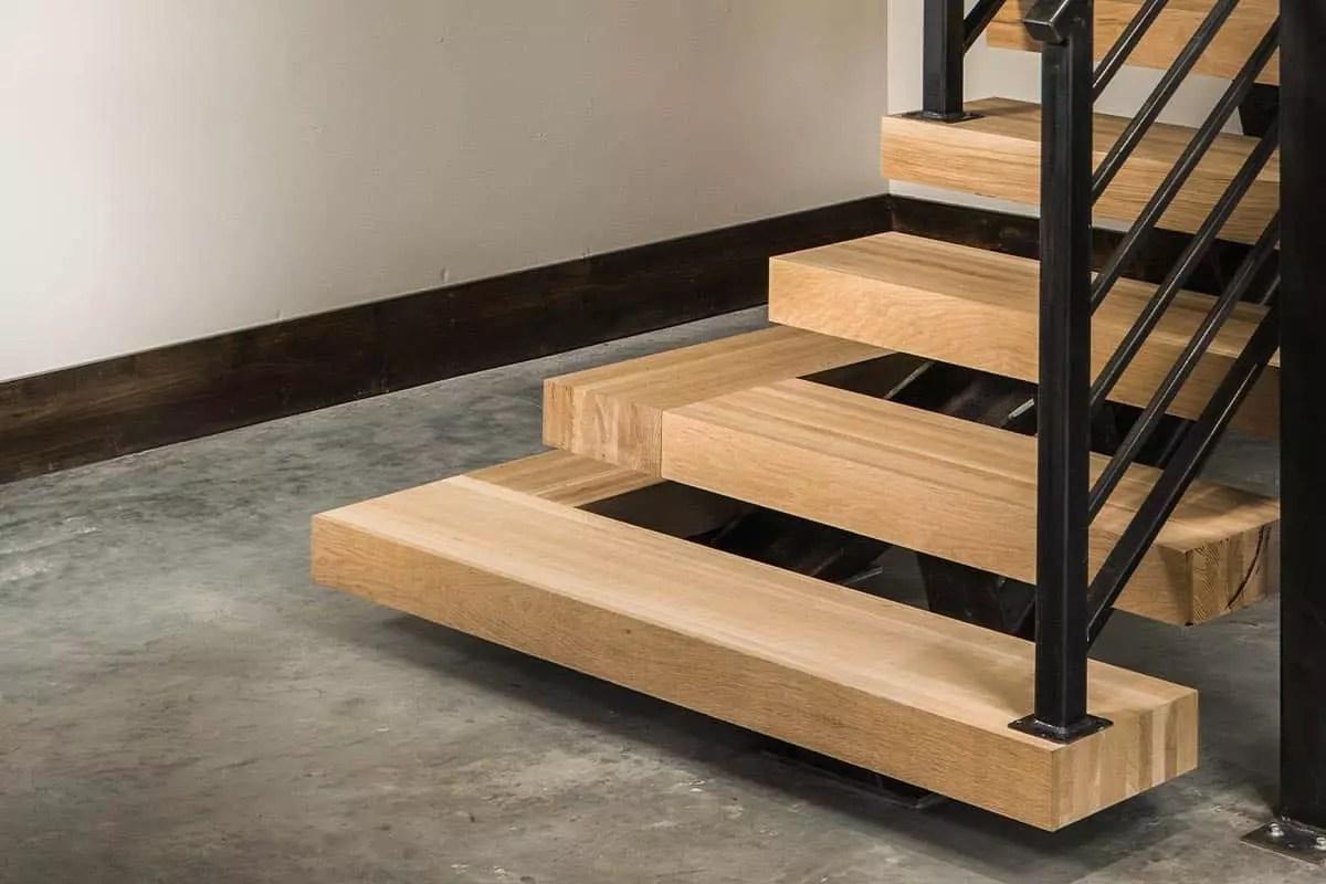 Stair Parts Appalachian Lumber   Yellow Pine Stair Treads   Natural   Diy   White Pine   Distressed   Hemlock