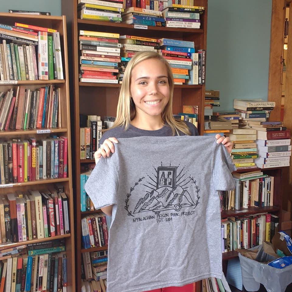 kristin with tshirt sept 2018