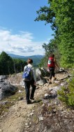 guided hikes with appalachian trail adevntures