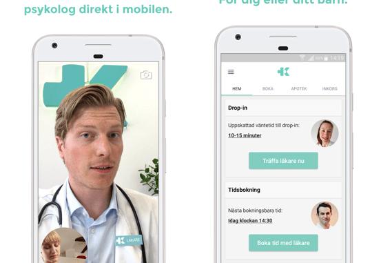 Besök läkare via App