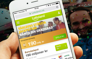 Eurojackpot finns nu som app