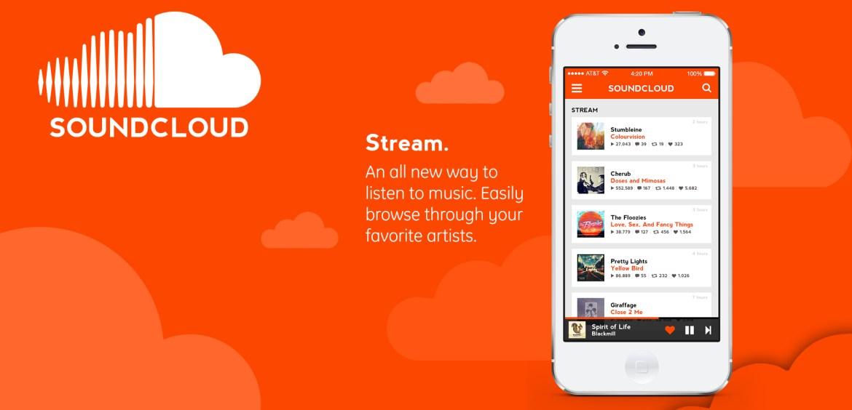 Soundcloud-appen – Kompakt, avskalad och smidig
