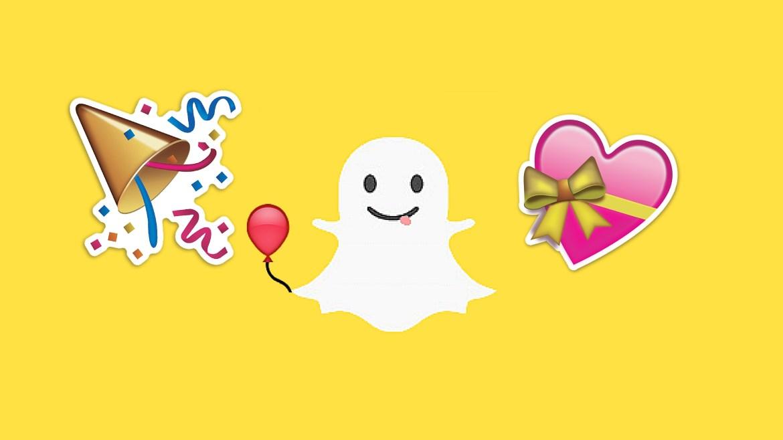 Fira din födelsedag med hjälp av Snapchat