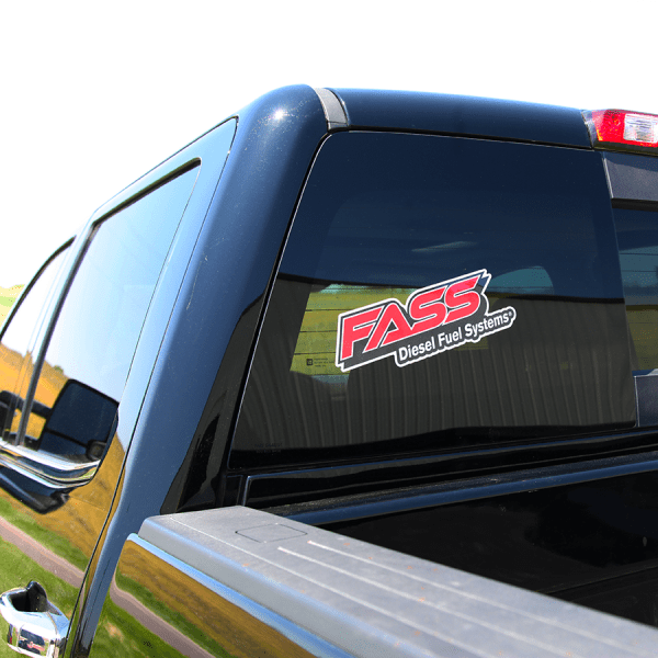 Fass Diesel Fuel Systems Logo Decal