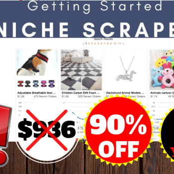90% OFF Niche Scraper Discount Price 2020 For 2 Years
