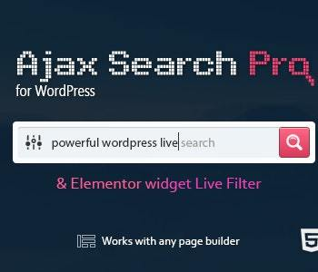 Ajax Search Pro-Live WordPress Search & Filter Plugin Cheap Price 2020