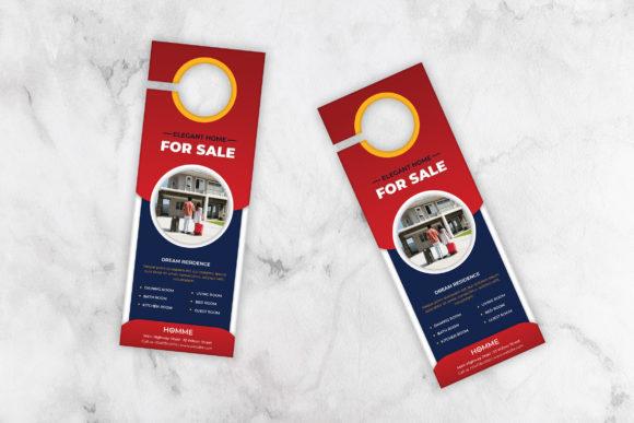 50+High-Quality Editable Door Hanger Design Template Cheap Price
