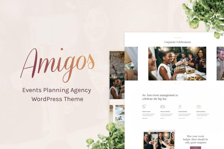 Amigos - Party & Celebration Event Agency Theme