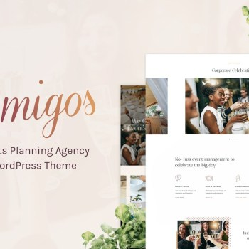 Amigos - Party & Celebration Event Agency Theme