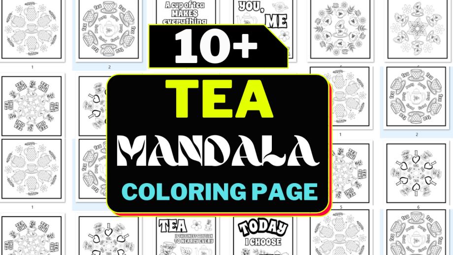 Best 10+ Tea Time Mandala Cheap Price 2021
