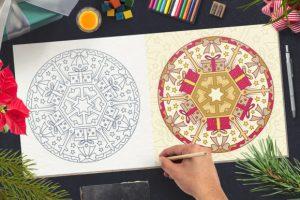 2600 High Quality Premium Mandala Coloring Page 2021 Cheap Price