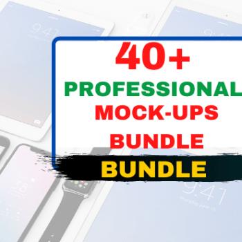 Professional Mock-Ups Bundle Very Cheap Price