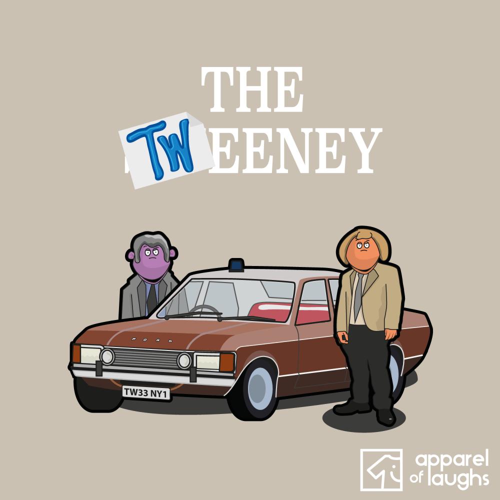 The Tweeney T Shirt Design Sand