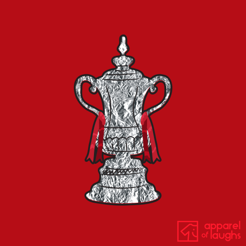 Tin Foil FA Cup T Shirt Design Red