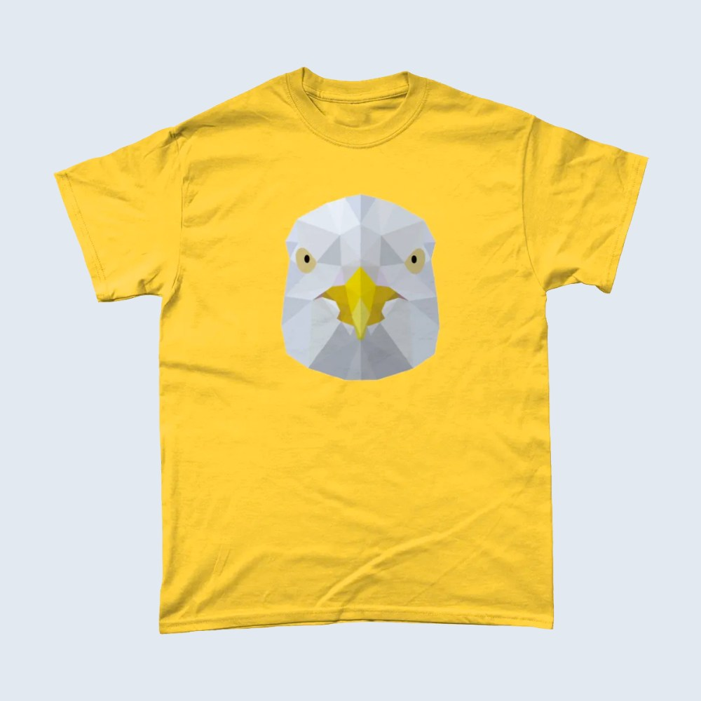 Low Poly Seagull T Shirt