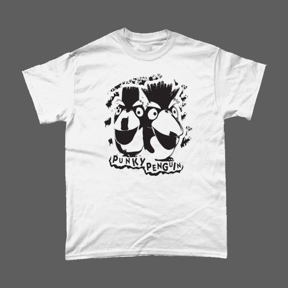 Punky Penguin Ice Cream Punk T Shirt