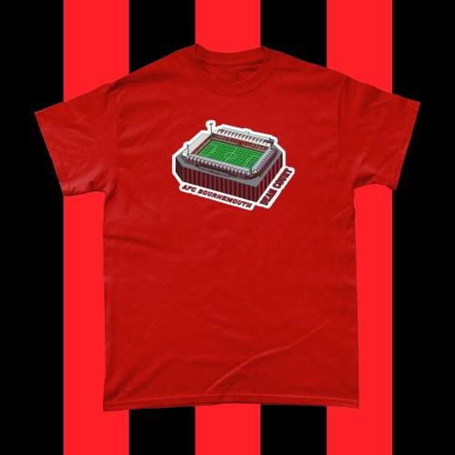 AFC Bournemouth Dean Court Football Stadium T Shirt