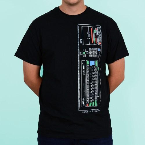 Amstrad CPC 464 Personal Computer T Shirt Black