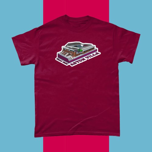 Aston Villa Villa Park Football Stadium T Shirt