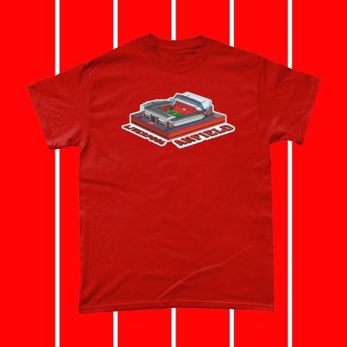 Liverpool Anfield Football Stadium T Shirt