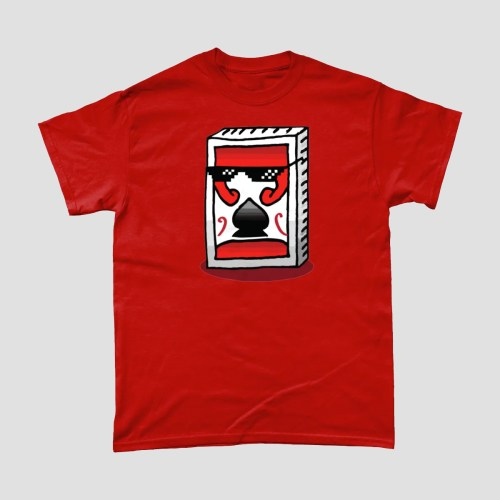 Playing Cards Deal With It T Shirt