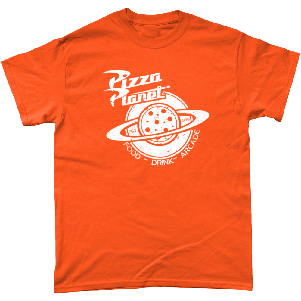 Pizza Planet Toy Story T Shirt Sunset