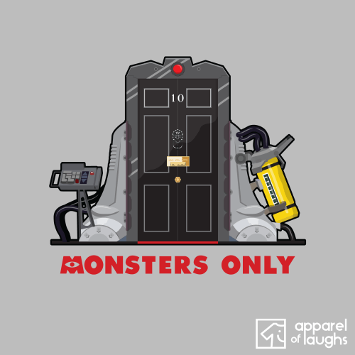 Monsters Inc Only Downing Street Political T Shirt Design Sports Grey