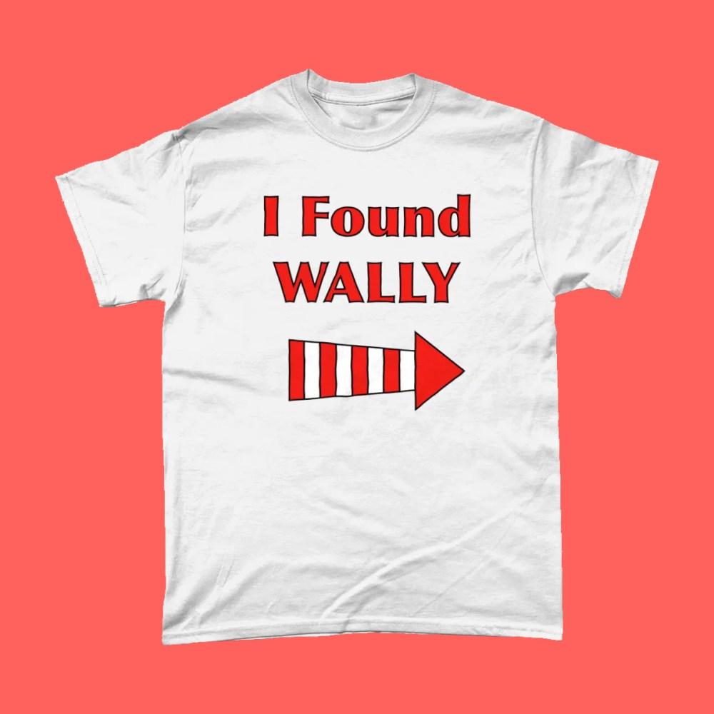 I Found Where's Wally Waldo T Shirt