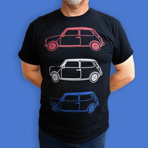 Mini British Car Italian Job Men's T-Shirt