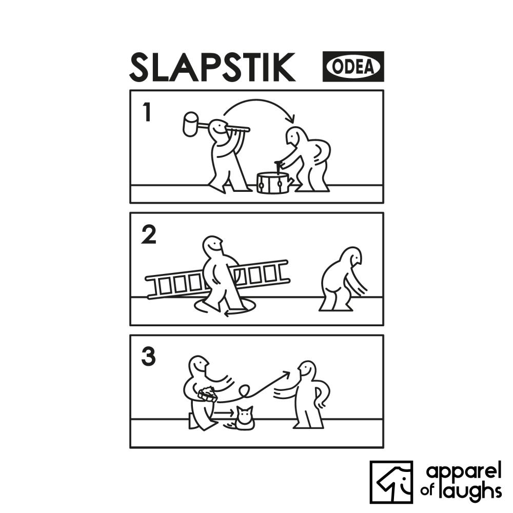 Slapstick Comedy Ikea Instructions T Shirt Design White