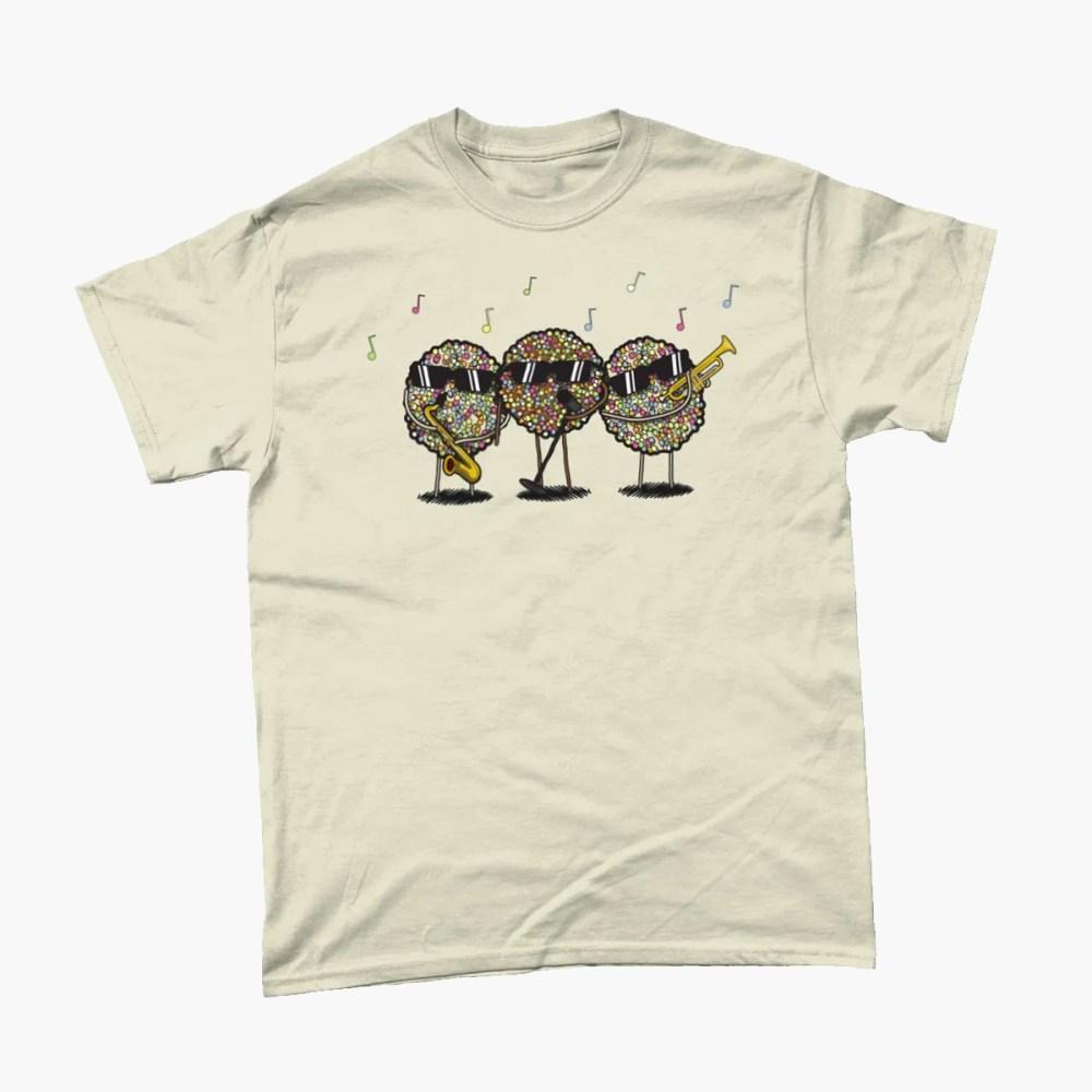 Jazzies Band Chocolate Sweet T Shirt