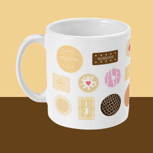Biscuit Mug Left