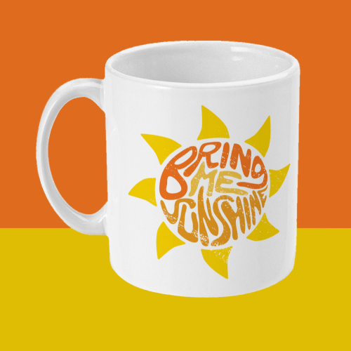 Bring Me Sunshine Morecambe and Wise Comedy Mug