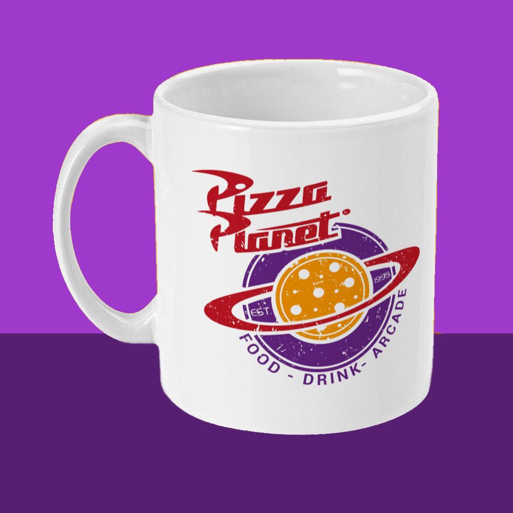 Pizza Planet Pixar Disney Mug