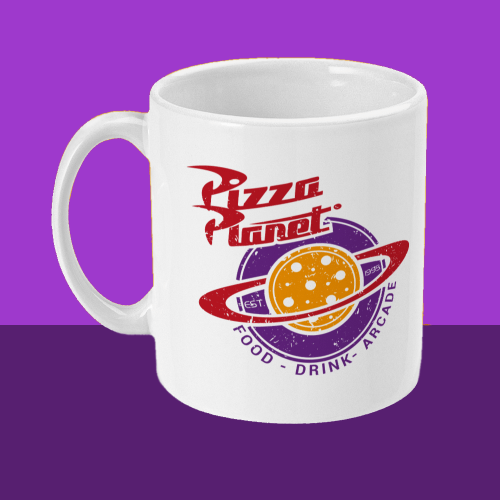 Pizza Planet Pixar Disney Mug