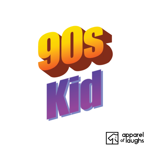 90s Kid Microsoft Word Art Women's T-Shirt Design White