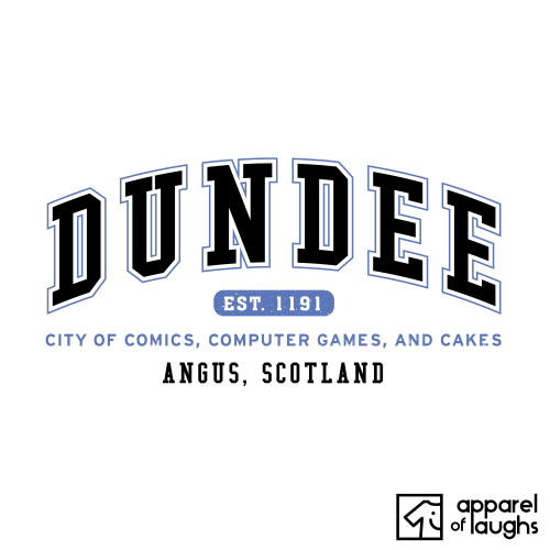 Dundee City Men's T-Shirt Women's Hoodie British Places White