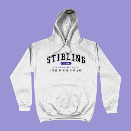Stirling City Men's Apparel Women's Hoodie British Places White