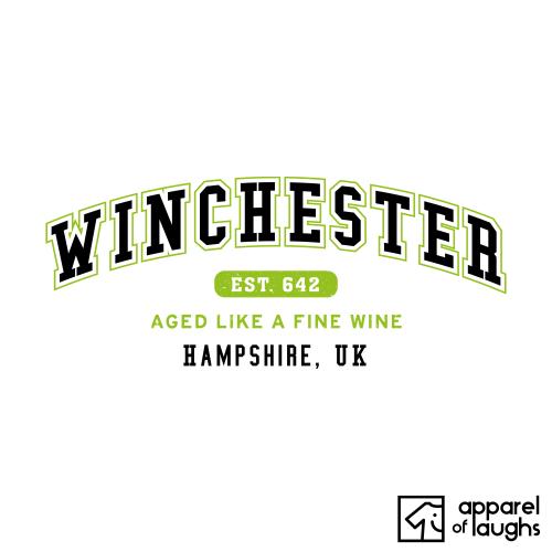 Winchester City Men's T-Shirt Women's Hoodie British Places White