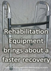 Rehabilitation Equipment Are Designed For a Quick Recovery