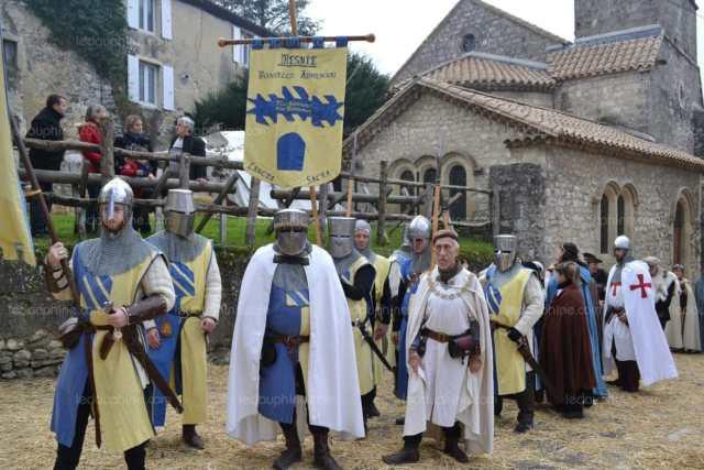 chateauneuf du rhone fete medievale