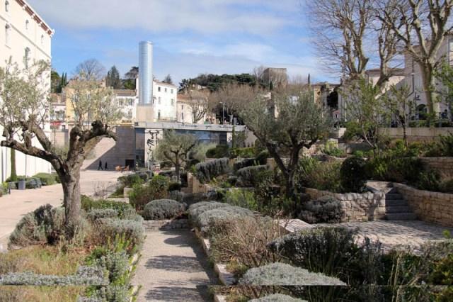 jardin des senteurs quartier saint martin montelimar