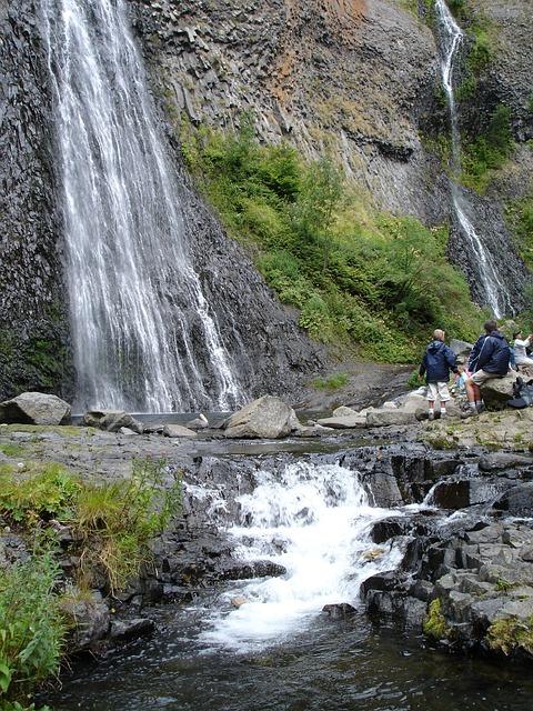 Cascade naturel du Ray-pic en Ardéche