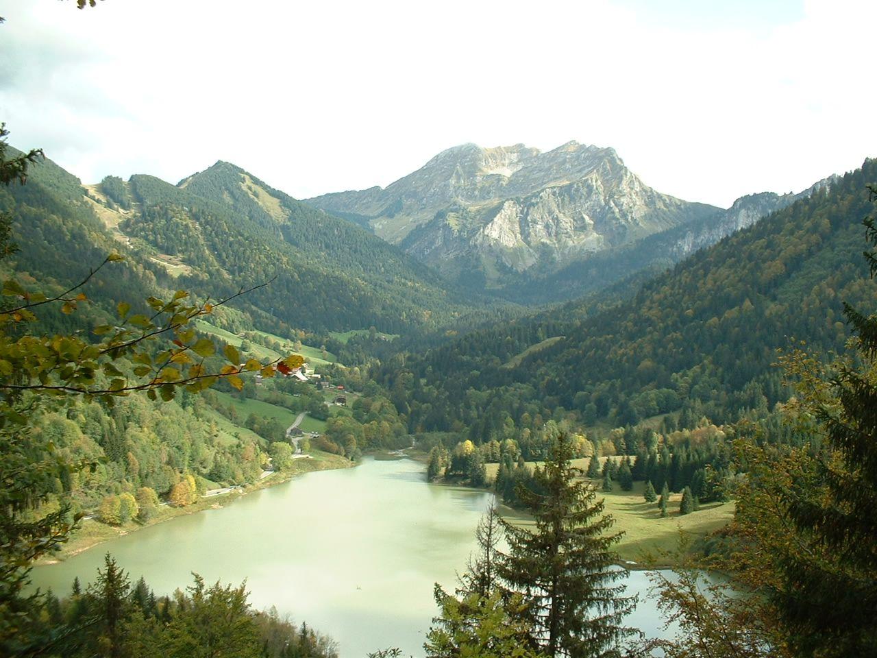 Lac de Vallon à Bellevaux