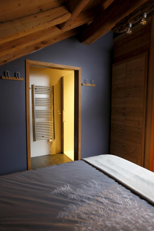 Chambre 3 Lit Double Avec Salle D Eau Privative Appartement Baikal La Salle Les Alpes Serre Chevalier