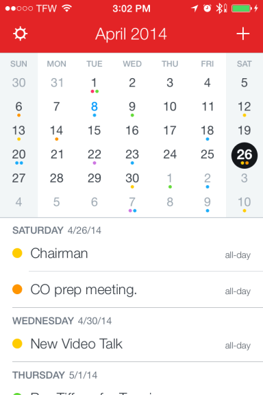 Fantastical 2 – The natural choice for iPhone calendaring | AppChasers