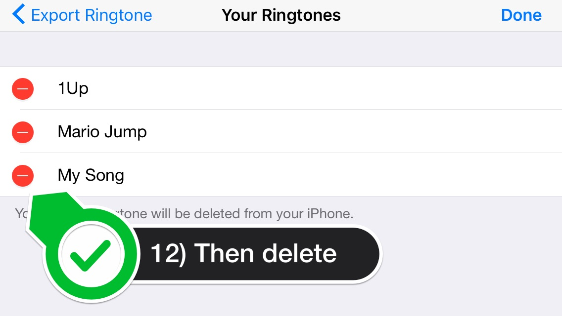 how to set ringtone in iphone without itunes