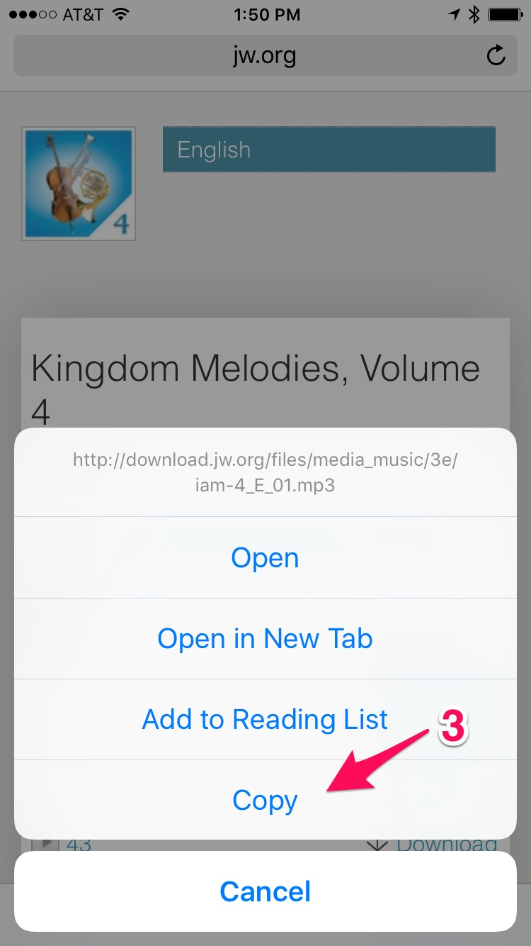 Make iPhone Ringtones from JW org Kingdom Songs and JW Broadcast